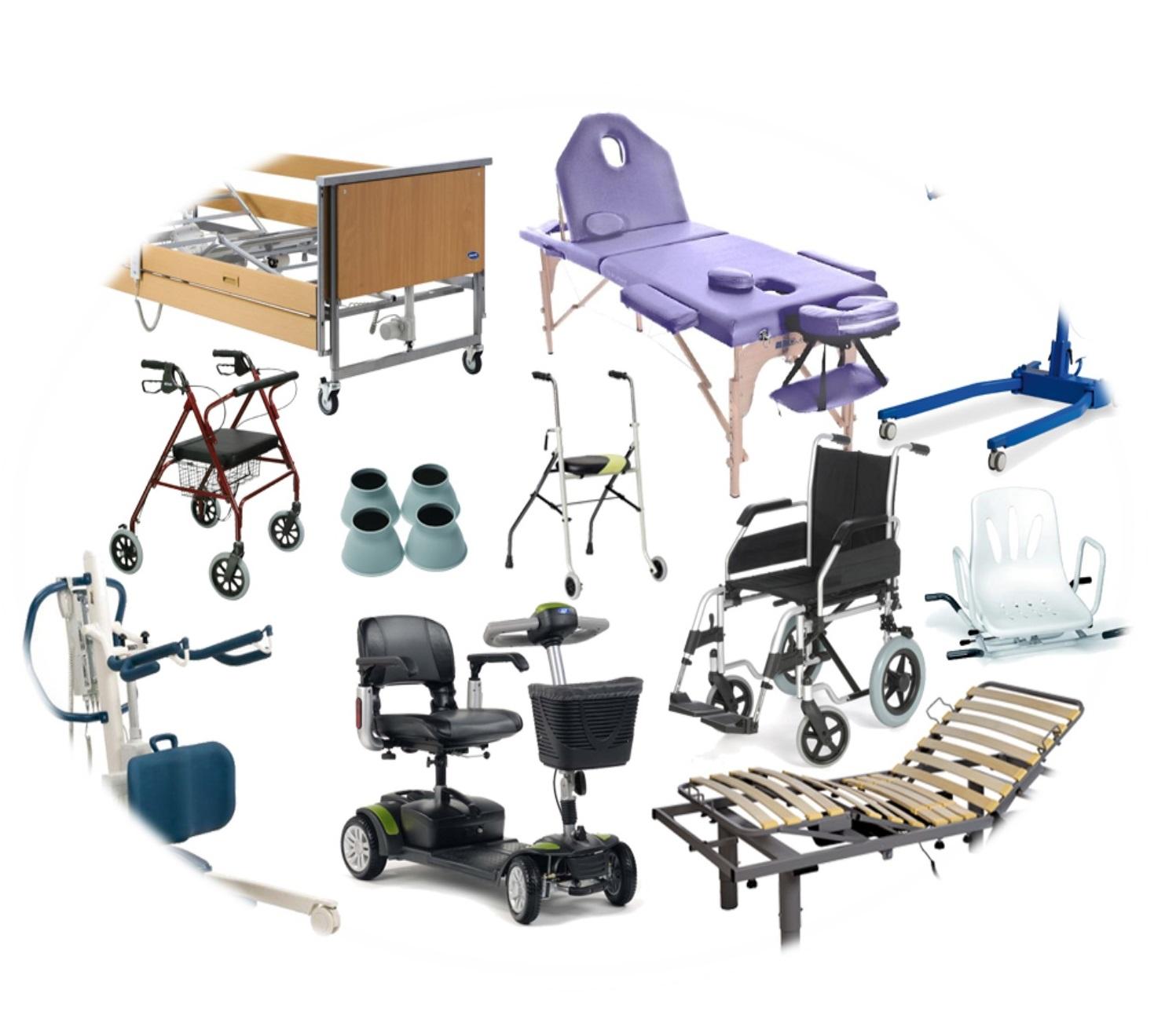 productos de apoyo y de ortopedia