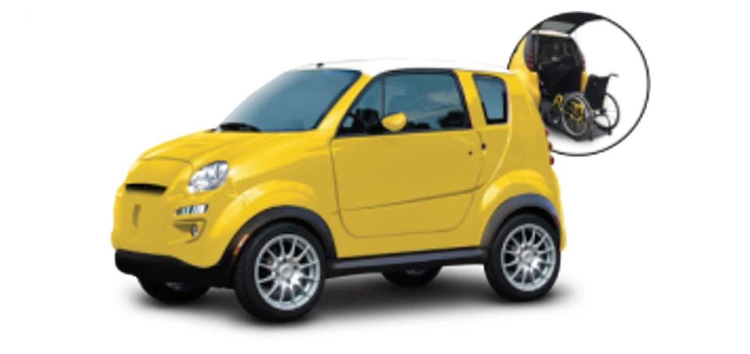 Kenguru, conduce el coche directamente con la silla de ruedas