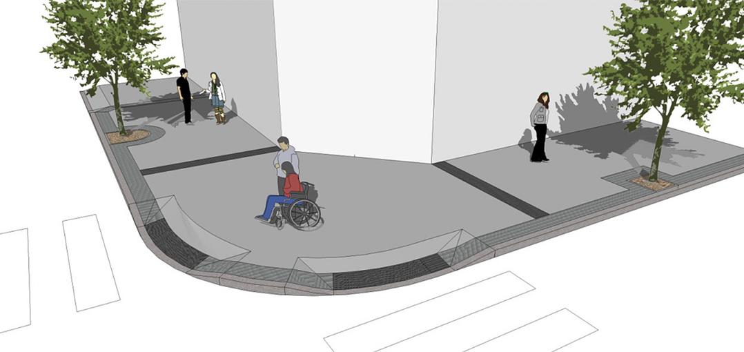 C mo deber an ser las aceras accesibles - Pavimentos para aceras ...