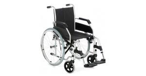 silla de ruedas manual autopropulsable plegable