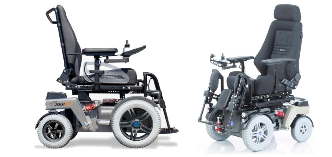 silla de ruedas electrica otto bock c1000 ds