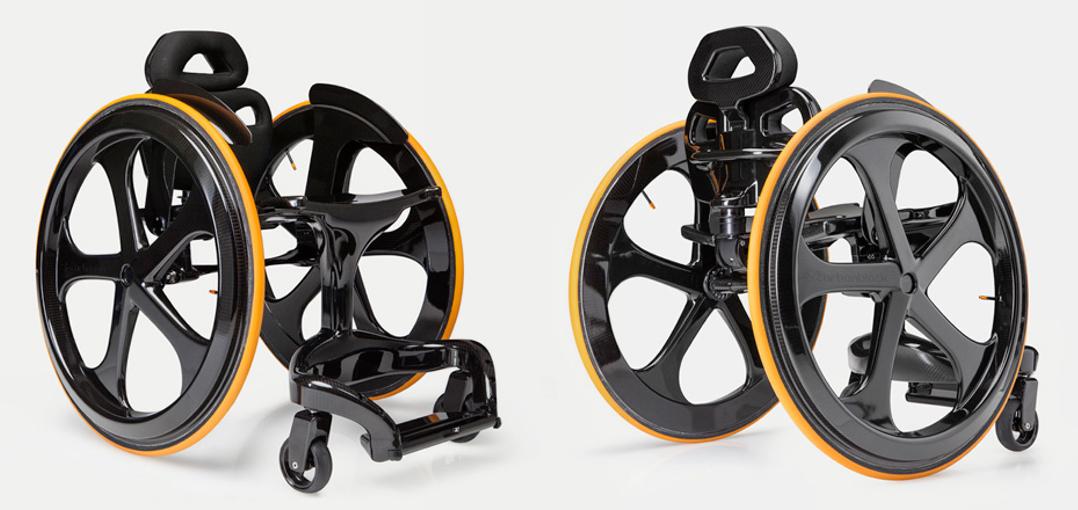 silla de ruedas fibra de carbono