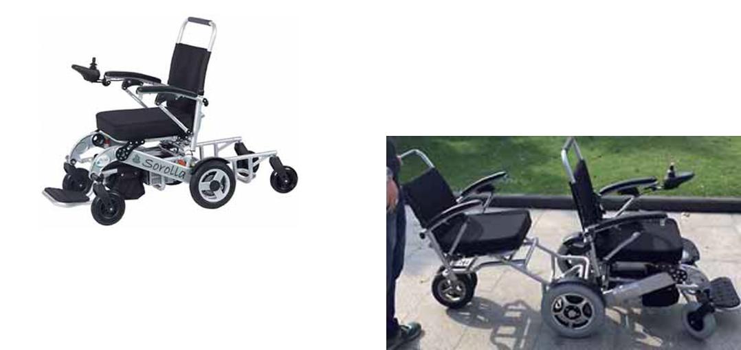 silla de ruedas electrica sorolla 315