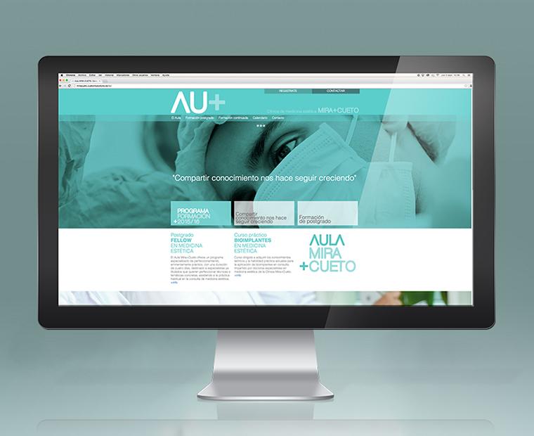 Website de Aula Mira Cueto
