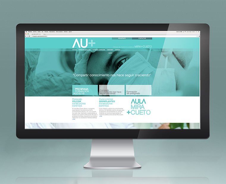 Website de Aula Mira Cueto