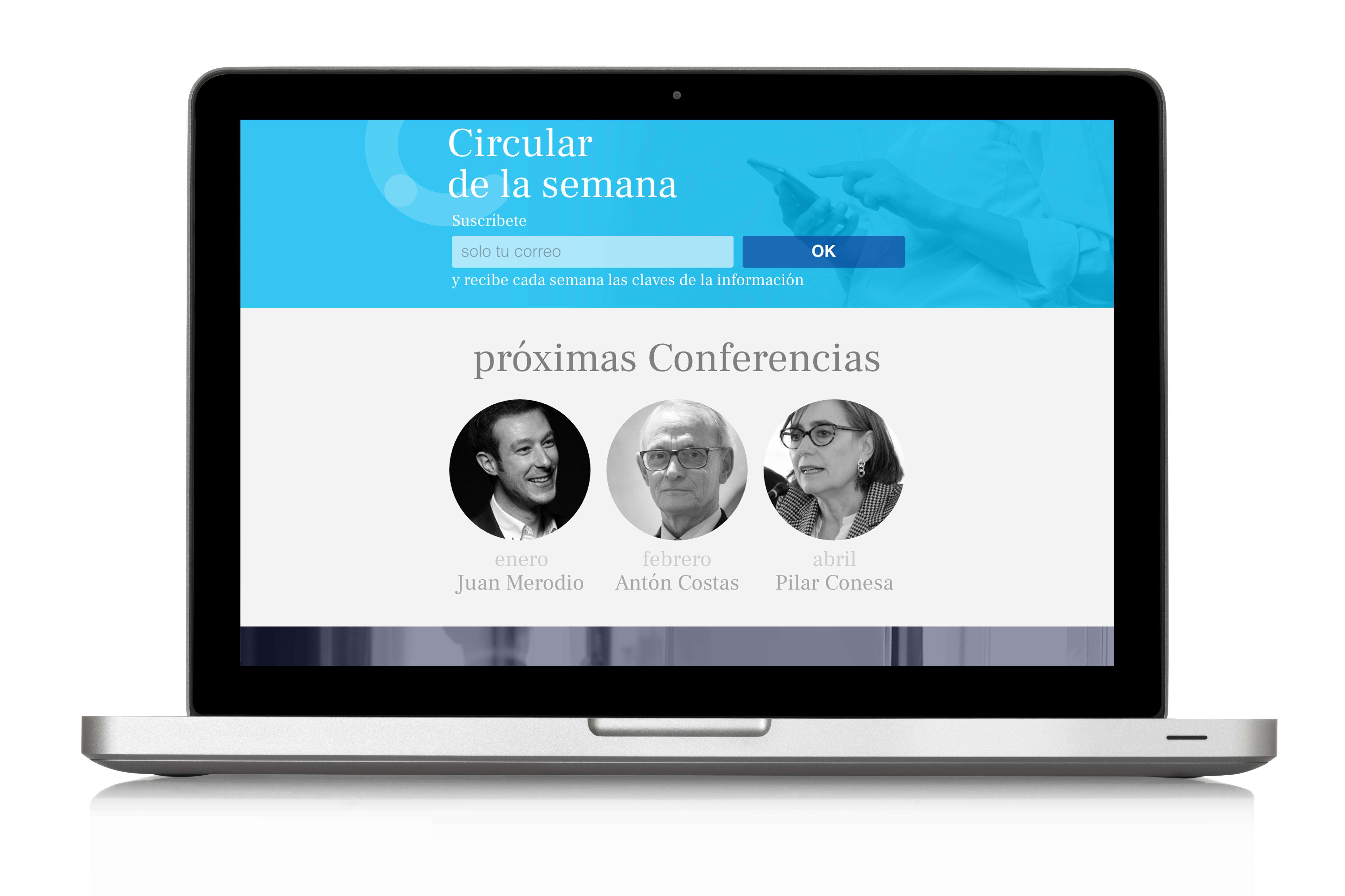Diseño web Cercle Economia