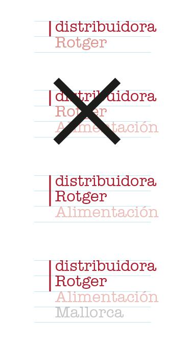 Ejemplo marcas Rotger