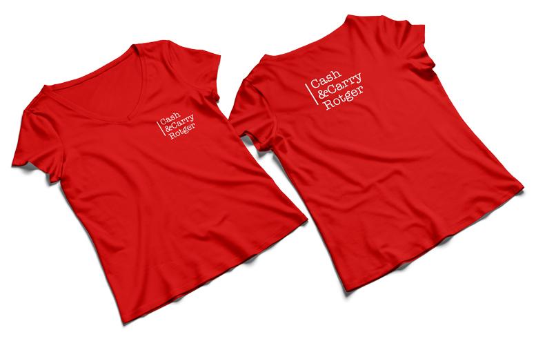 Camisetas cash & carry Rotger