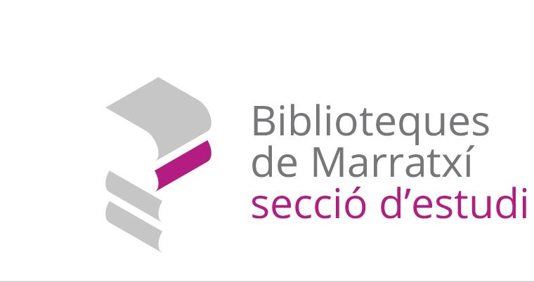 08 Logo Blibliotecas de Marratxi Sección Estudio