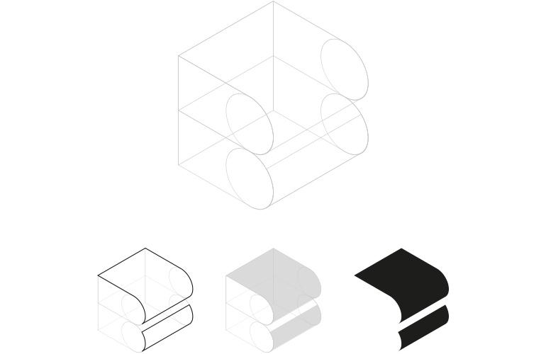Isometrica logo Bibliotecas Marratxi