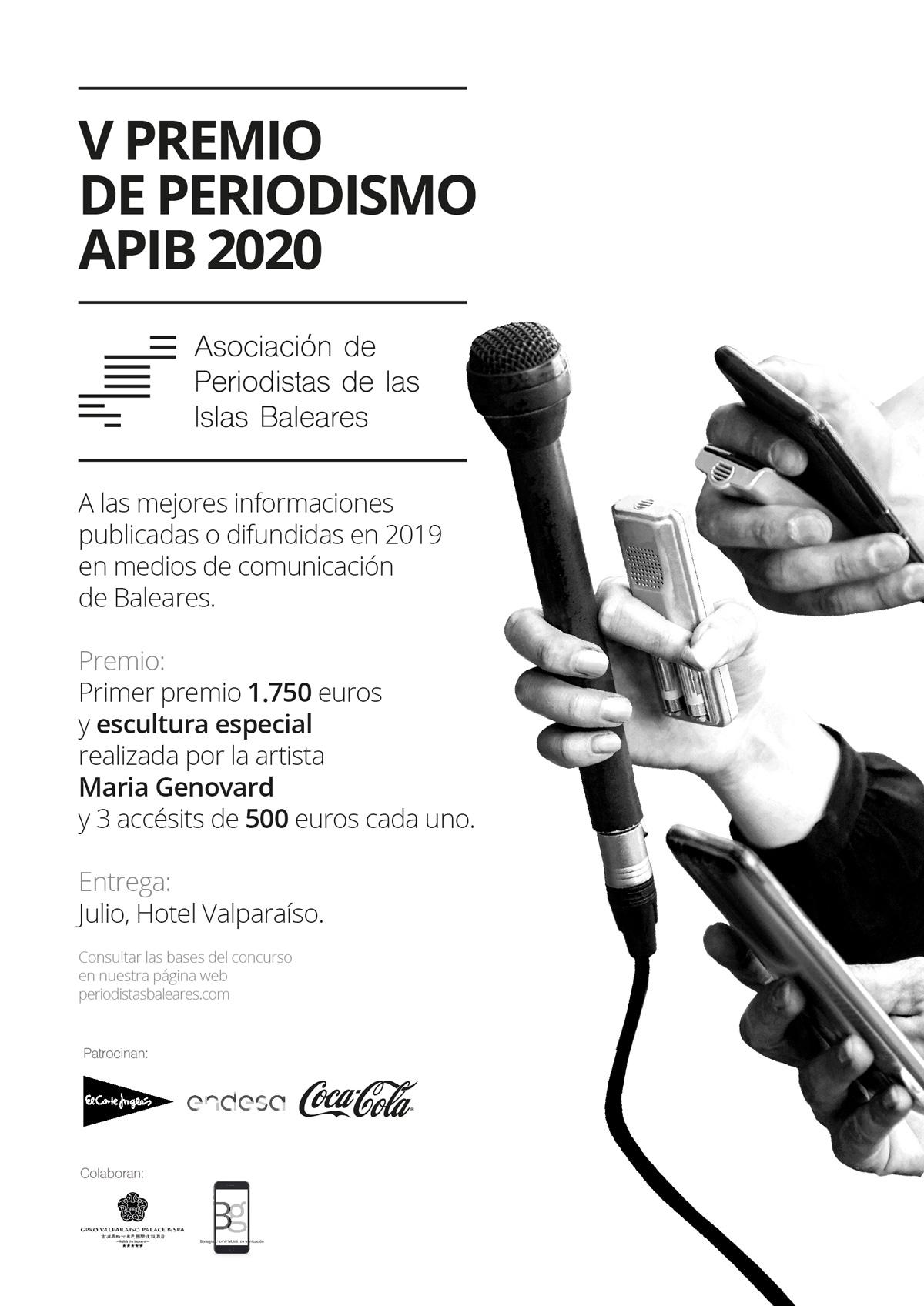 Cartel V Premio de la Asociación APIB