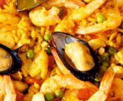 ¿Qué es paella y qué es arroz?
