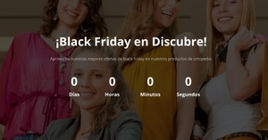 Las ortopedias se suman al Black Friday