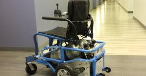 PneuChair, silla de ruedas con aire comprimido