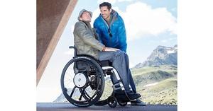 Ayuda de propulsión para sillas de ruedas