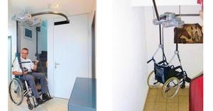 Muevete por la casa en este elevador de techo