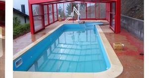 Grúa de piscina semi móvil