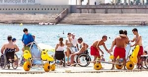 Playas accesibles en Barcelona