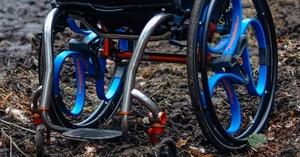 Loopwheel, rueda con suspensión integral para sillas de ruedas