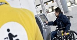 Accesibilidad de pasajeros en vuelos de aviones