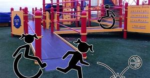 PARQUES INFANTILES ACCESIBLES PARA TODOS: QUE DEBEN TENER.