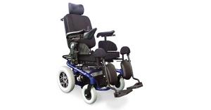 Silla de ruedas basculante y ajustable