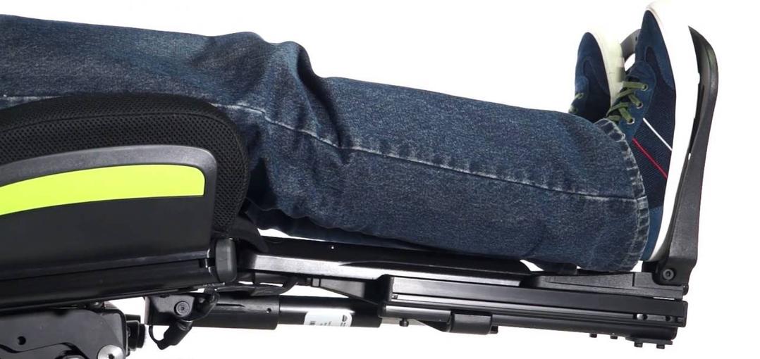 Reposapíes de una silla de ruedas