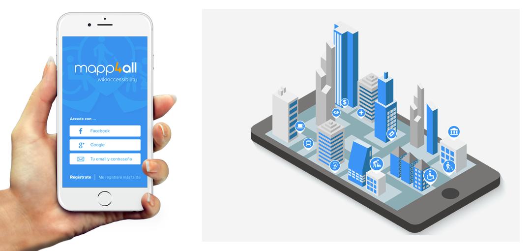 Mapp4all, app de la Accesibilidad Universal