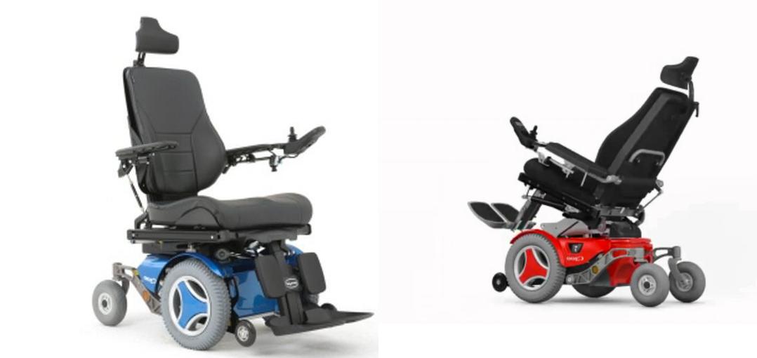 fallo en el permobil silla de ruedas