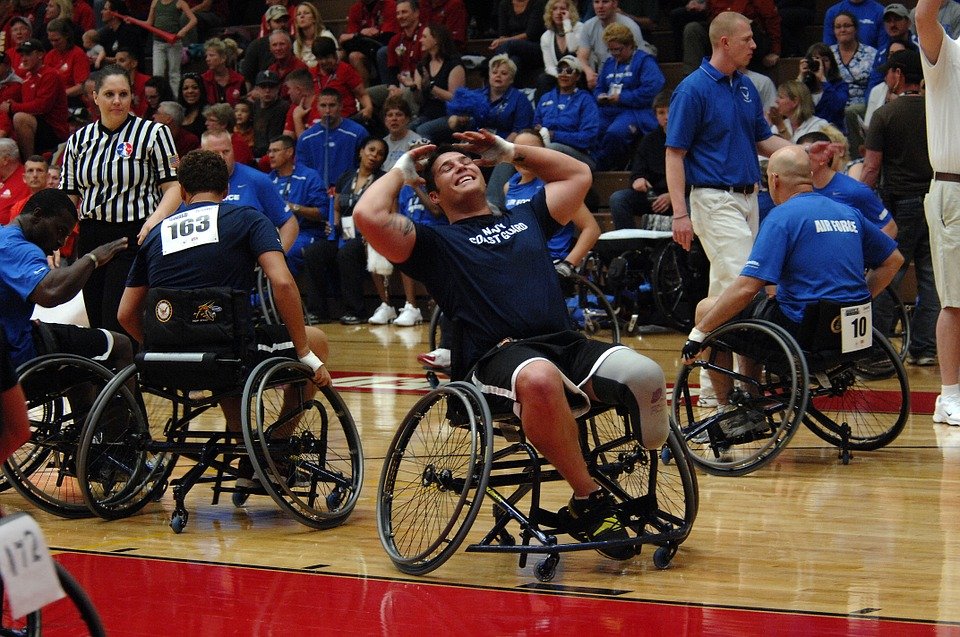 Silla de ruedas baloncesto 1