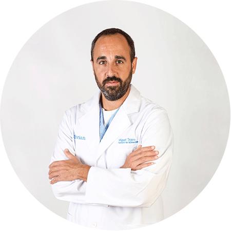 Miguel Tejero, Médico especialista en Anestesiología, Reanimación y Terapéutica del dolor