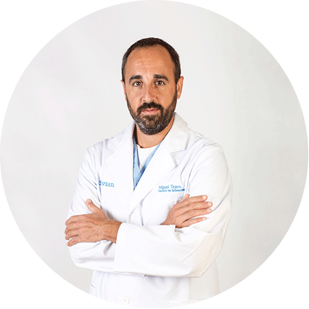 Miguel Tejero, Specialist in Anaesthesiology, Reanimation and Pain Therapeutics