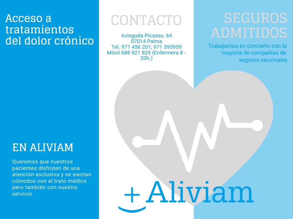 Los asegurados con Sanitas y Mapfre ya pueden acceder a los tratamientos de Aliviam