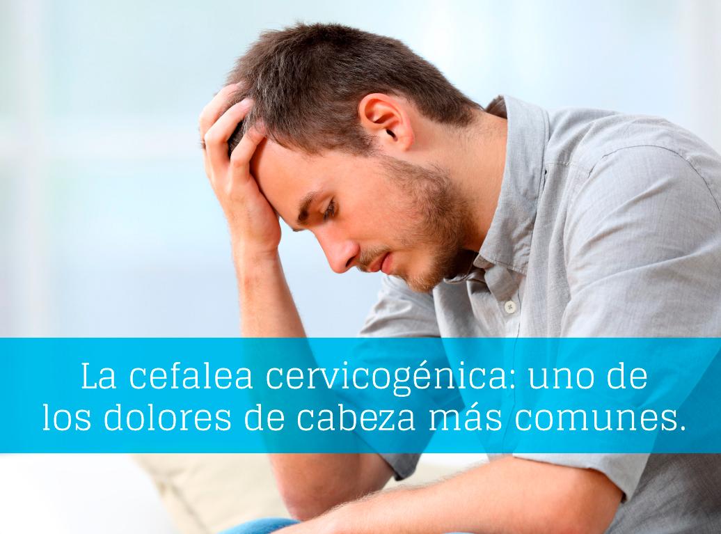 ¿Qué es la cefalea cervicogénica?
