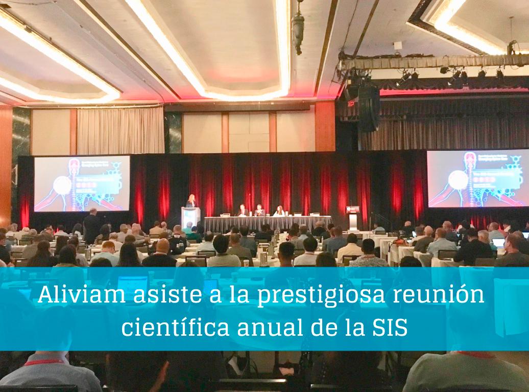 Aliviam asiste a la prestigiosa reunión científica anual de la SIS