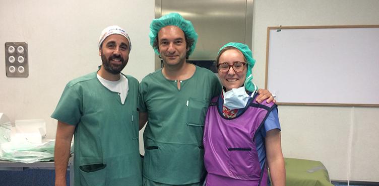 Demostración en directo del Dr. Meli en el Hospital Comarcal de Inca