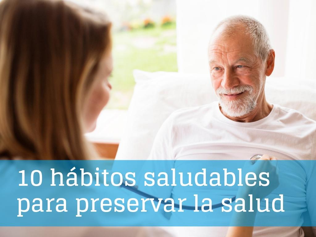 Día Mundial de la Salud: decálogo de hábitos saludables para preservar la salud