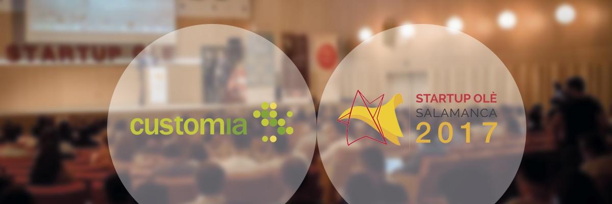 Customia participa en la 3ª edición de Startup Olé