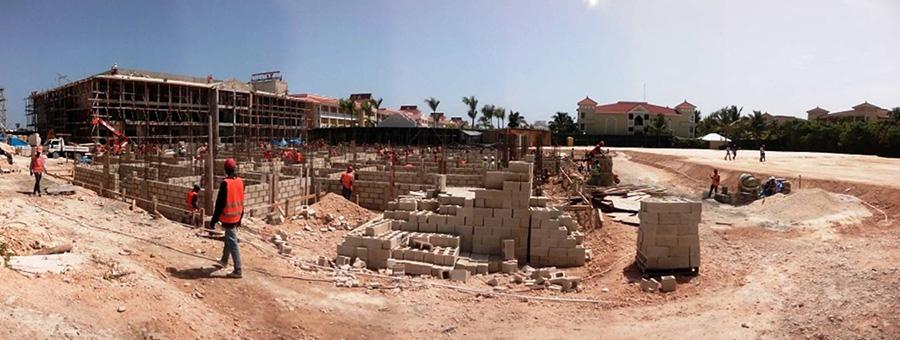 Ambar Villas en construcción