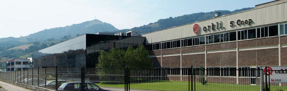 Fábrica de Orkli en Guipúzcoa