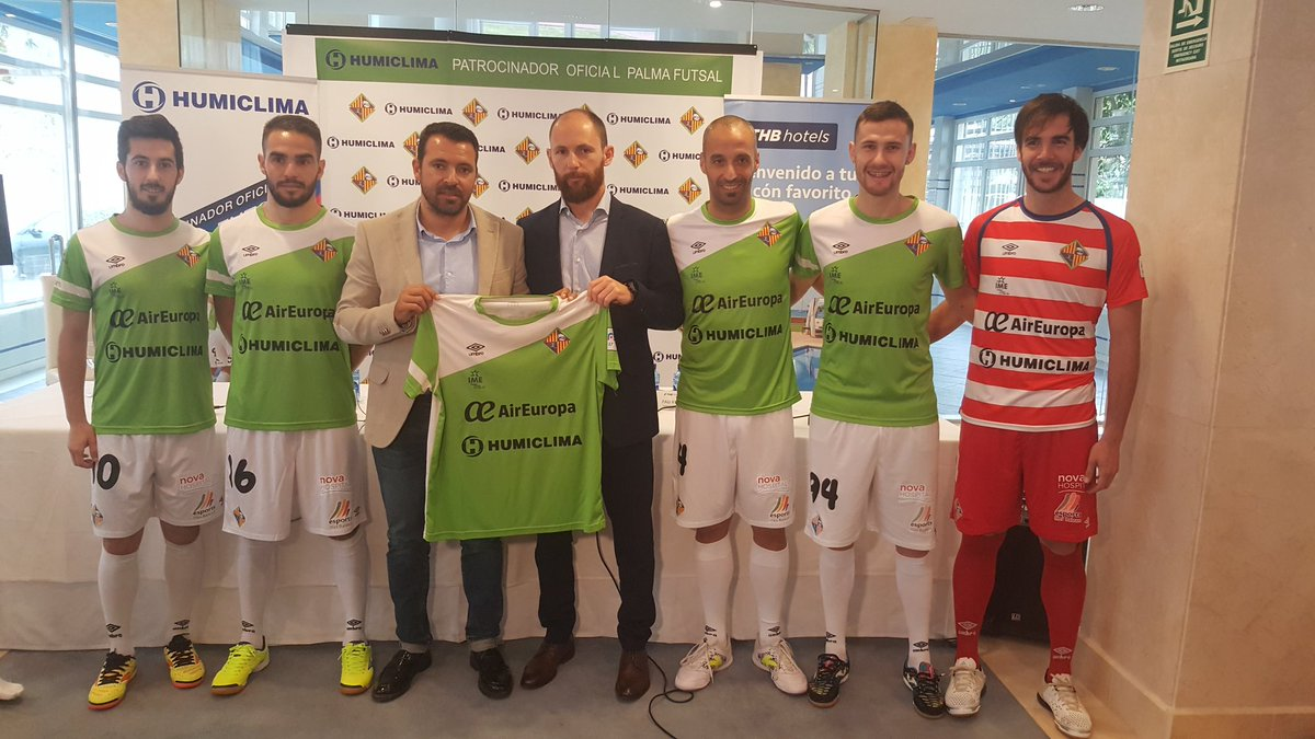 Humiclima patrocinador Palma Futsal