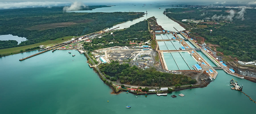 Panama Canal, the works of expansion in the final stretch