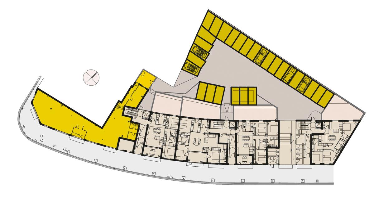Plano general de Residencial Sa Tanca